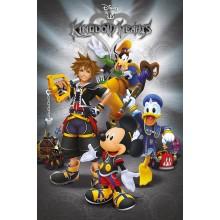 Постер Kingdom Hearts Classic Мики Маус
