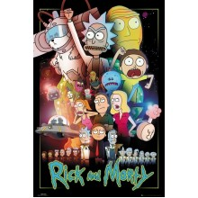 Постер Rick and Morty Wars