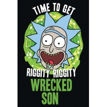 Постер Rick and Morty Wrecked Son