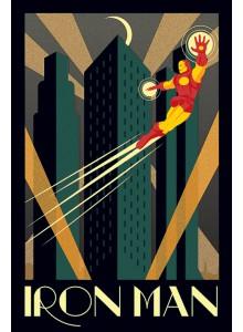 Постер Железният Човек Marvel Deco