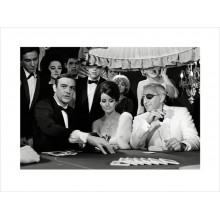 Принт  James Bond Thunderball Casino