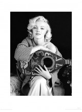 Принт Marilyn Monroe Черно - бял