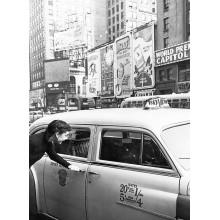 Принт Одри Хепбърн Ню Йорк