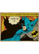 """Принт от Канава Батман """"Ето го"""""""