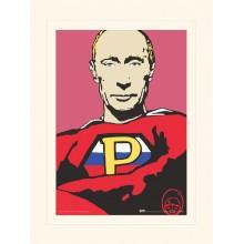 Принт с Паспарту Путин