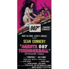 Принт Върху Платно  James Bond Thunderball