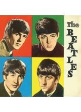 Принт Върху Платно The Beatles Colours