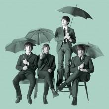 Принт Върху Платно The Beatles Umbrellas