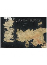 Високотехнологичен Принт Игра на Тронове Карта