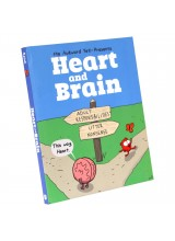 Подписана Книга Nick Seluk | Heart and Brain Collection Book