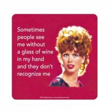 Подложка за чаша | Sometimes wine