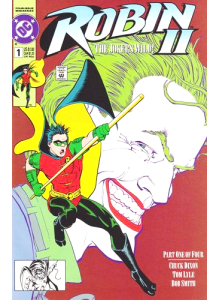1991-10 Robin 1 Kevin Maguire Cover