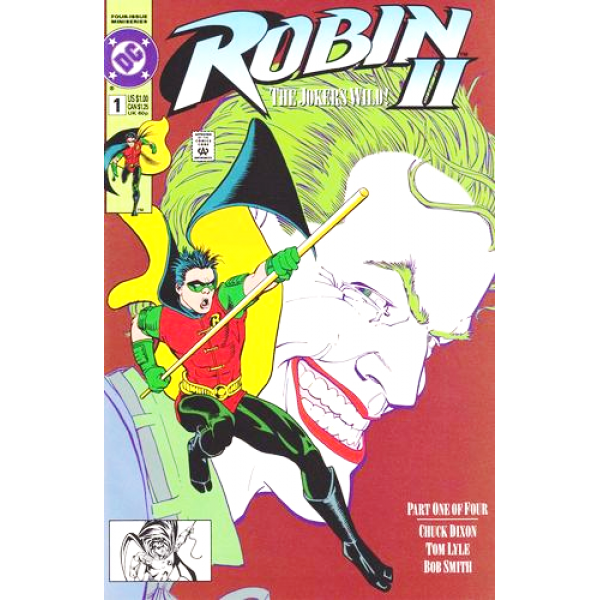1991-10 Robin 1 Kevin Maguire Cover 1