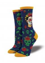 Чорапи Фрида Кало Ден на Мъртвите 35-43
