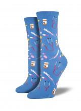 Чорапи Лекарства в Синьо 35-43