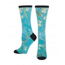 Чорапи с 3D Принт Ван Гог Almond Blossom 35-43