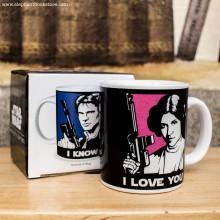 Чаша Leia & Han Solo