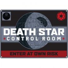 Метална табела DEATH STAR