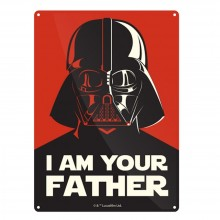 Метална табела I AM YOUR FATHER