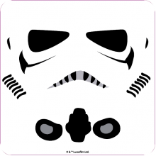 Single Coaster | Star Wars Storm Trooper White