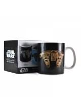 Топлочувствителна Чаша за Кафе Star Wars Millennium Falcon MUGBSW42
