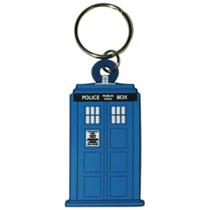 Rubber Keychain Dr Who Tardis