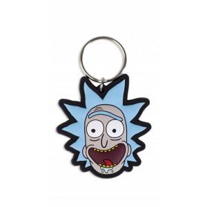 Гумен Ключодържател Rick and Morty Crazy Smile