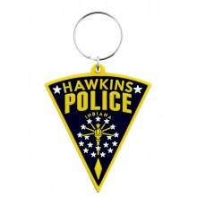 Гумен Ключодържател Stranger Things Hawkins Police