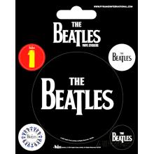 Комплект Винилени Стикери The Beatles Black