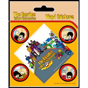 Комплект Винилени Стикери The Beatles Yellow Submarine