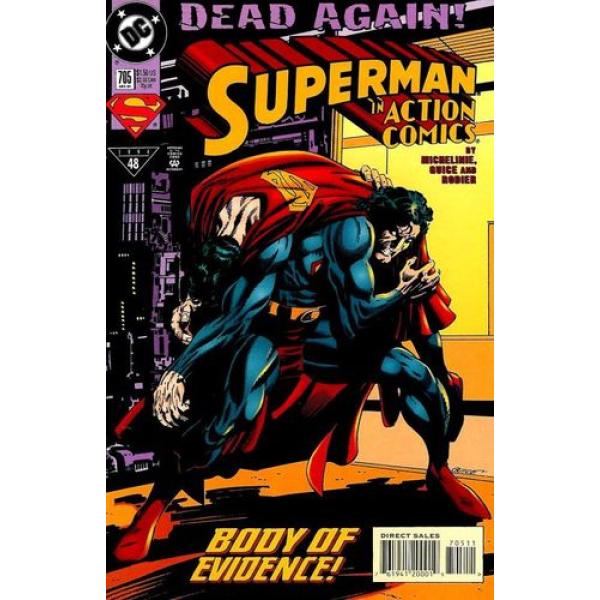 1994-12 Superman in Action Comics 705 1