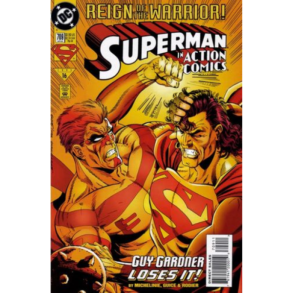 1995-04 Superman in Action Comics 709 1