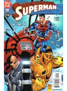 Комикс 2002-11 Superman 186
