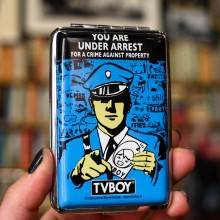 Малка Табакера за Цигари TVBOY You Are Under Arrest