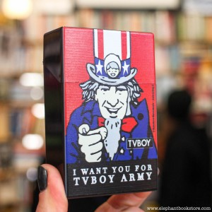 Plastic Cigarette Box I Want You for TVBOY Army