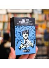 Пластмасова Кутия за Цигари TVBOY You Are Under Arrest