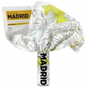 Crumpled City Map|Madrid