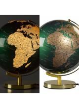 Класически Светещ Глобус Зелено