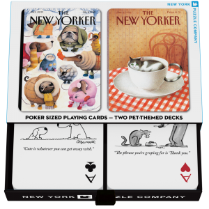 Playing Cards Set The New Yorker Dog and Cats