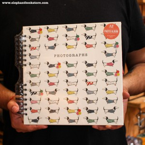 Hard Covered Photo Album Sausage Dogs