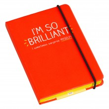 HAP460 Тефтер А6  I am so Brilliant