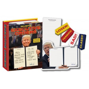 Sticky Notes Trump's Executive Orders