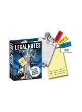Лепящи бележки Legal Notes