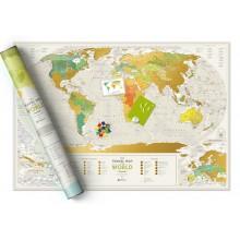 Скреч Карта на Света География