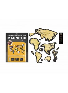 Скреч Карта на Света Magnetic
