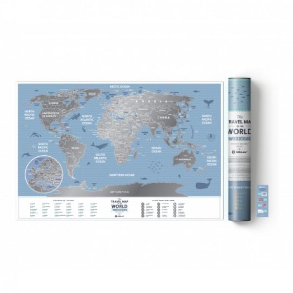 Скреч Карта World Travel Weekend  1