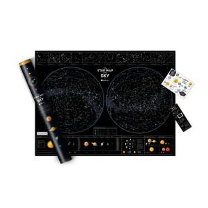 Светеща Карта Star Map of the Sky