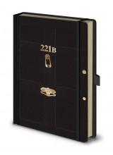Тефтер А5 Sherlock 221B