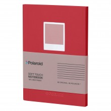 Тефтер Polaroid Soft Touch Red