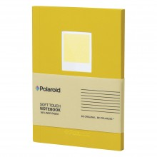 Тефтер Polaroid Soft Touch Yellow